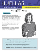 Footprints for Parents and Mentors Study Guide Lesson 1 (Spanish)