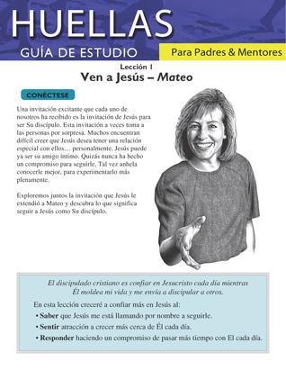 Guía de Huellas para padres y mentores -Lección 1