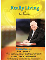 Larsen, Doss, Trexler -- Really Living DVD