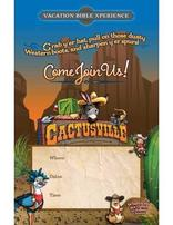 Cactusville VBX Promotional Poster (set of 5)