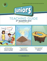 Growing Together SS Curriculum Junior Teacher's Guide 4th Qtr 19 Standing Order