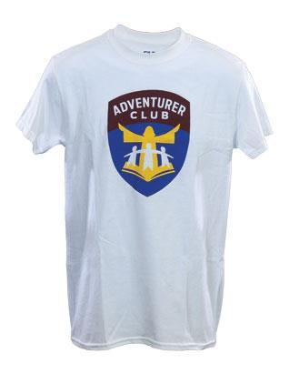 New Adventurer Adult T-shirt (White)