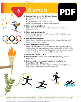 Builder Olympics Award - PDF Downloa