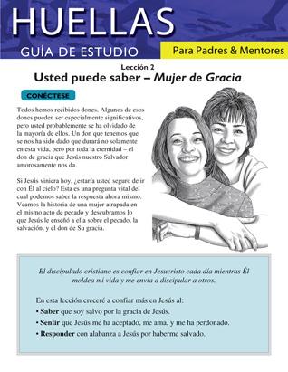 Guía de Huellas para padres y mentores- Lección 2