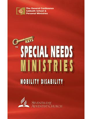 Mobility Disability - Keys to Special Needs Ministries