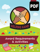 Helping Hand Award Activities - PDF Download