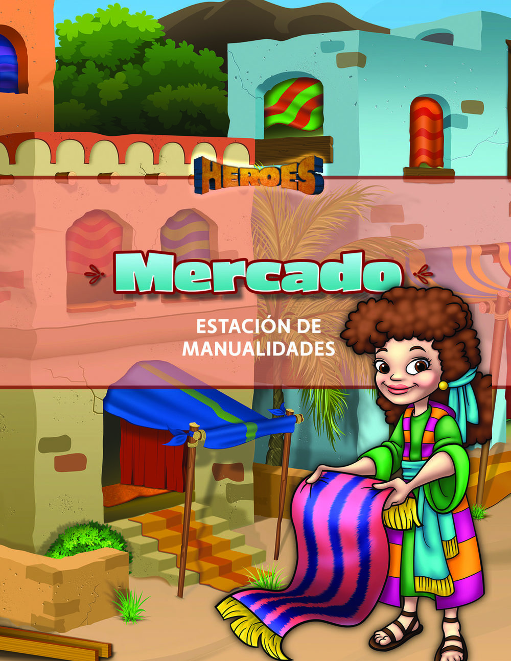 Heroes VBS Marketplace Guide (Craft Station) (Spanish)