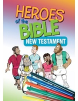 Bible Heroes NT Coloring Book