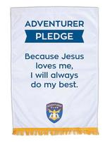 Adventurer Club Pledge Banner (English)