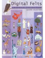 Digital Felt Graphics Collection Master Collection
