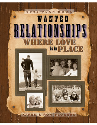 Relationships Where Love is in Place - Family Ministries Planbook