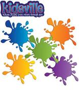 Kidsville VBX Wow Wall Paint Splats (pkg of 10 sets of 5 colors)