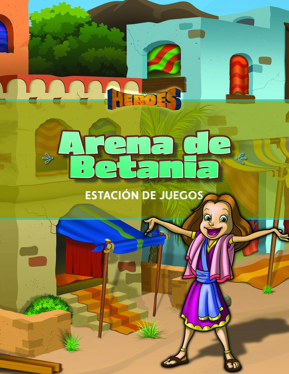 Heroes VBS Bethany Arena Guide (Game Station) (Spanish)