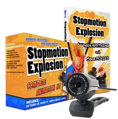 Stopmotion Explosion Animation Kit