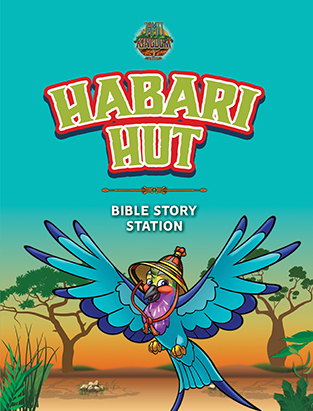 Jamii Kingdom VBS Habari Hut Manual (Bible Story)
