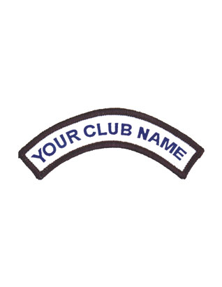 Adventurer Uniform Custom Club Crest (1 DOZEN)