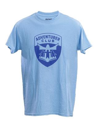 New Adventurer Adult T-Shirts (Light Blue)