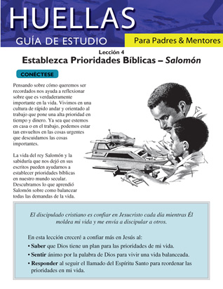 Footprints for Parents and Mentors Study Guide Lesson 4 (Spanish)