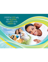 Choose Full Life - Sleep, Vacations, Rest and Sabbath (Postcard)(pkg of 100)