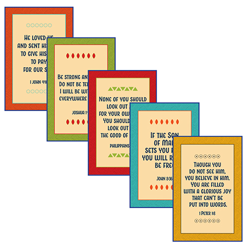 VBS 19 Daily Key Verse Posters (5)