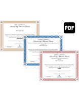 Certificates of Ordination PDF Download - Spanish