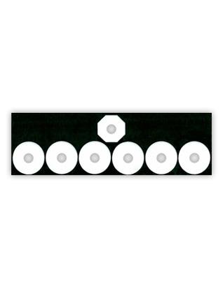 Master Guide 6 Pin Badge - No Pins