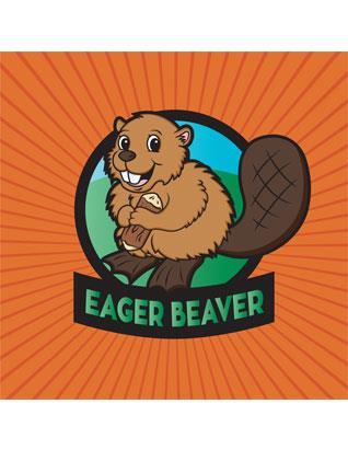 Eager Beaver Wall Banner