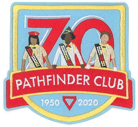 Pathfinder 70th Anniversary Patch
