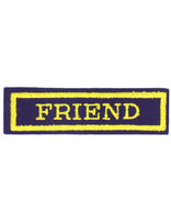 Friend Class Name Strip