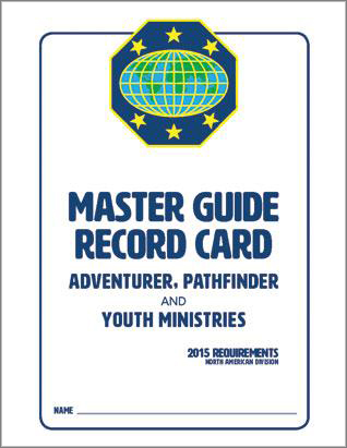 Master Guide Record Card