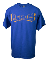 Heroes VBS Royal Blue Adult T-Shirt