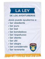 Adventurer Club Law Banner (Spanish)
