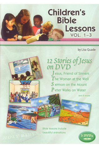 Children's Bible Lessons Volume 1-3
