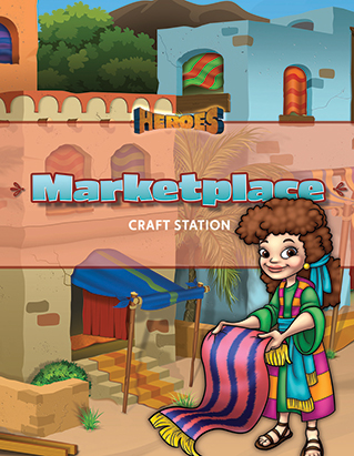 VBS 20 Market Place (crafts) Eng