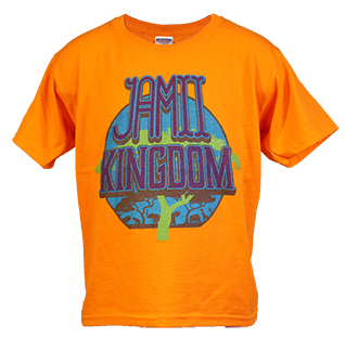 Jamii Kingdom Children's Orange T-Shirts