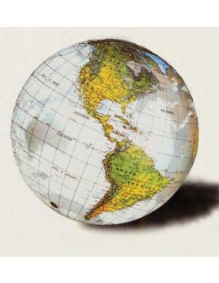 World Inflatable Globes