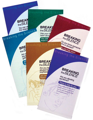 Breaking the Silence: Complete Set of 7 Brochures