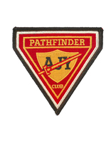 Vintage AJY Pathfinder Triangle Patch