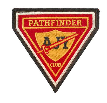 Vintage AJY Pathfinder Triangle Patch