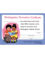 Kindergarten Promotion Certificate (10)