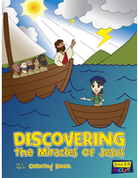 Discovering the Miracles of Jesus Coloring Book Vol. 2