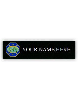 Master Guide Custom Engraved Name Badge