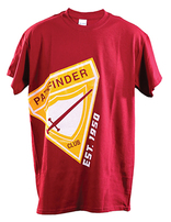 Pathfinder: Established 1950 T-shirt - Garnet