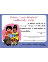 Kindergarten Promotion Certificate (French) (10)