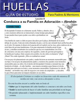 Guía de Huellas para padres y mentores - Lección 8