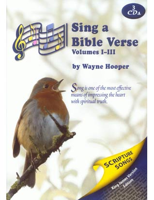Sing a Bible Verse Volumes 1-3