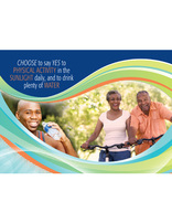 Choose Full Life - Yes to Physical Activity (Postcard) Pkg of 100