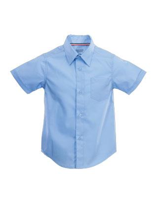 Adventurer Boys' Light Blue Uniform Shirt