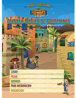 VBS 20 Postcards Spanish