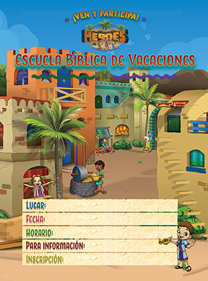 Heroes VBS Invitation Postcards (Pack of 100) (Spanish)